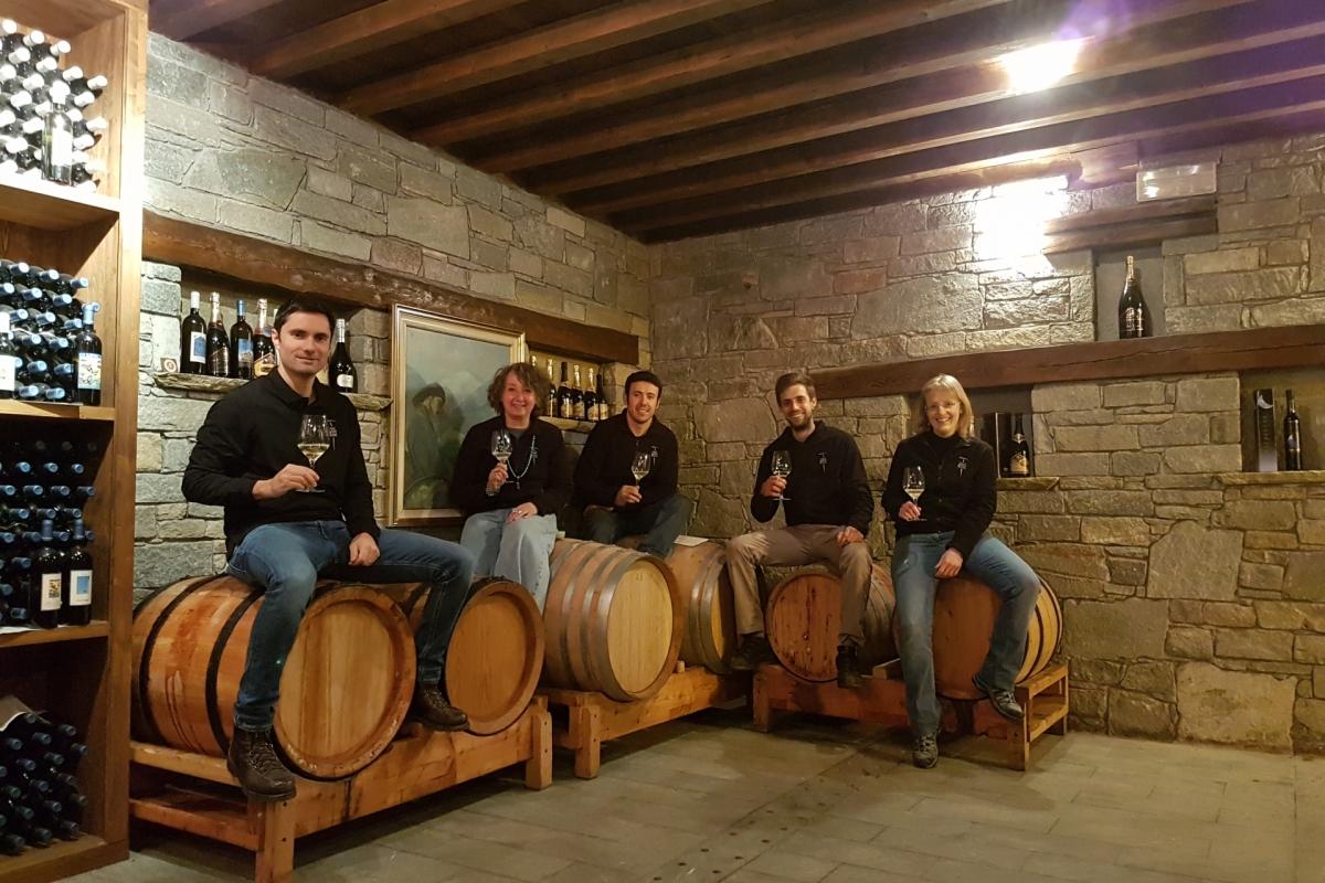 Lo Staff di Cave Mont Blanc