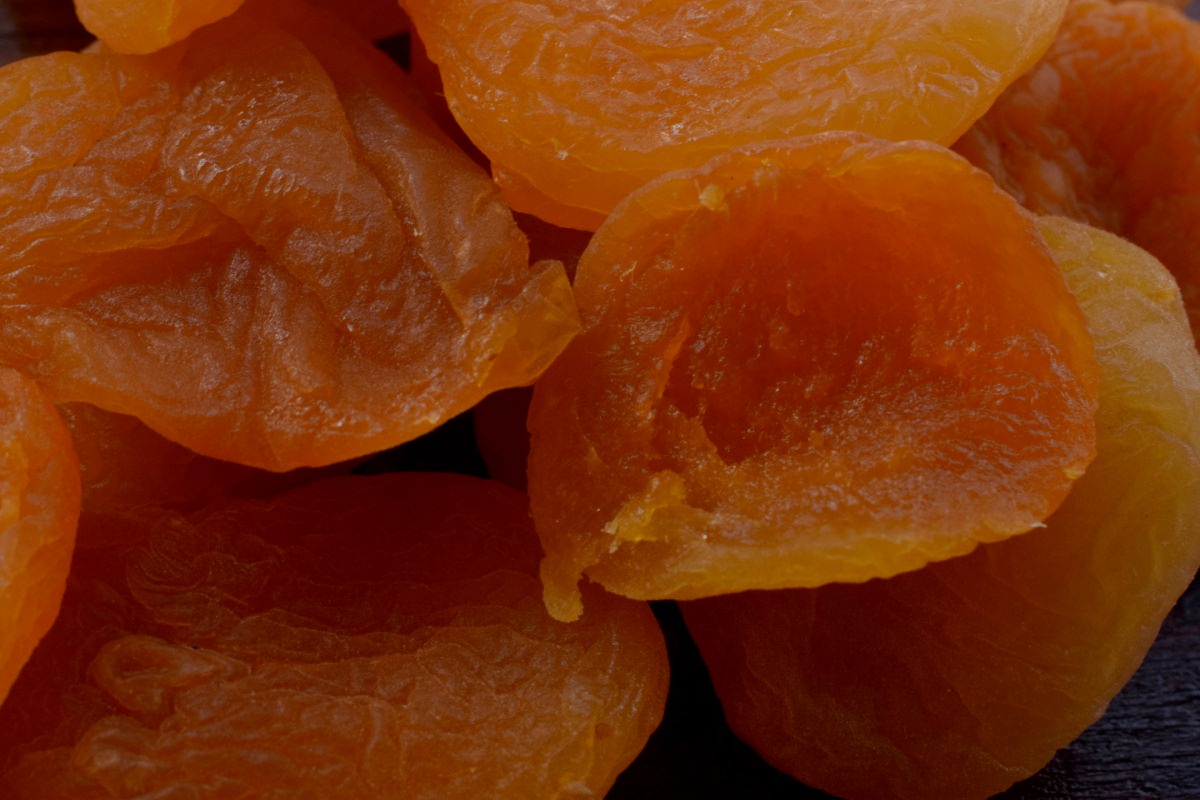 Albicocca essicata